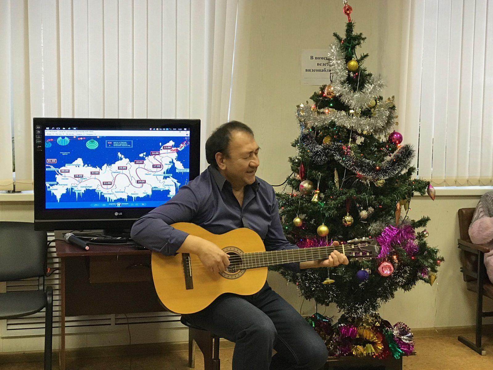 Новогоднее путешествие по России