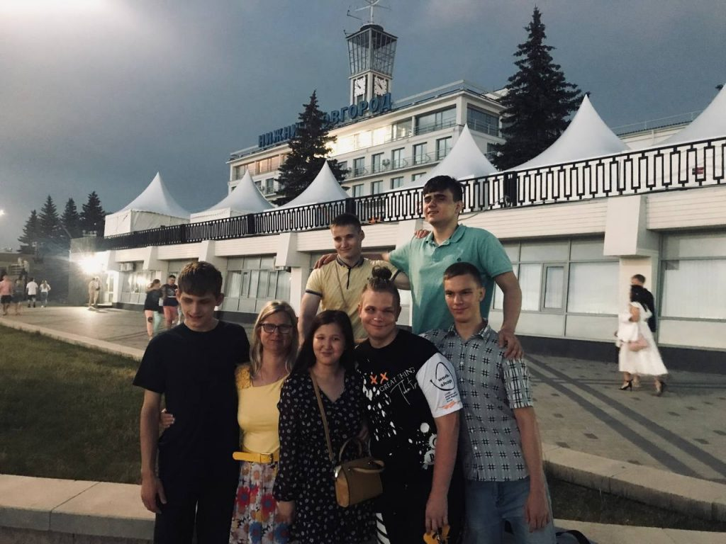 От Москвы до Нижнего Новгорода один шаг или приключения КОЛУПИТОВ.